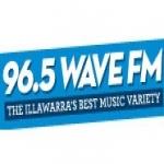 Logo da emissora Radio Wave 96.5 FM