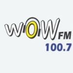 Logo da emissora Radio WOW 100.7 FM