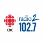 Logo da emissora CBC Radio 2 102.7 FM
