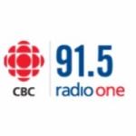 Logo da emissora CBC Radio One Prince George 91.5 FM