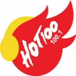 Logo da emissora Radio Hot 100.1 FM