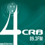 Logo da emissora Radio 4CRB 89.3 FM