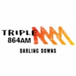 Logo da emissora Radio Triple M Darling Downs 864
