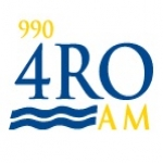 Logo da emissora Radio 4RO 990 AM