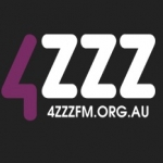 Logo da emissora Radio 4ZZZ 102.1 FM