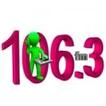 Logo da emissora Radio 106.3 FM Townsville