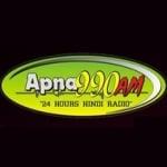 Logo da emissora Radio Apna 990 AM