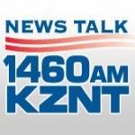 Logo da emissora KZNT 1460 AM