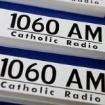 Logo da emissora Radio WQOM Catholic 1060 AM