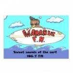 Logo da emissora Radio Maranui 106.7 FM