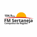 Logo da emissora Rádio FM Sertaneja 104.9 FM