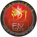 Logo da emissora Rádio Missionária 100.9 FM