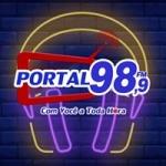 Logo da emissora Rádio Portal 98.9 FM