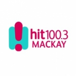 Logo da emissora Radio Hit 100.3 Mackay