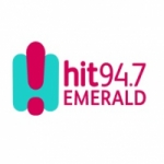 Logo da emissora Radio Hit 94.7 Emerald
