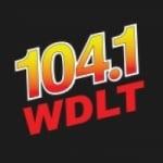 Logo da emissora WDLT 104.1 FM