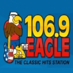 Logo da emissora WWEG 106.9 FM The Eagle