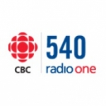 Logo da emissora CBC Radio One 540 AM