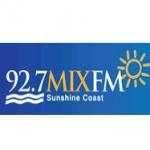 Logo da emissora Radio Mix 92.7 FM