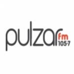 Logo da emissora Radio Pulzar 105.7 FM