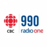 Logo da emissora CBC Radio One 990 AM
