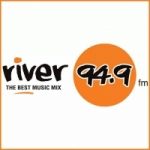 Logo da emissora Radio River 94.9 FM