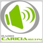 Logo da emissora Radio Caricia 102.3 FM