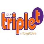 Logo da emissora Radio Triplet 103.9 FM