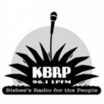 Logo da emissora KBRP 96.1 FM