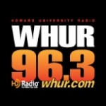 Logo da emissora Radio WHUR 96.3 FM