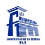 Logo da emissora Radio Universitaria La Serena 94.5 FM