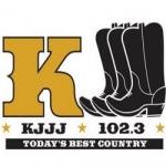 Logo da emissora KJJJ 102.3 FM