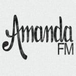 Logo da emissora Radio Amanda 103.7 FM