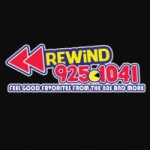 Logo da emissora KFLX 92.5 FM Rewind