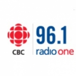 Logo da emissora CBC Radio One 96.1 FM