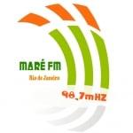Logo da emissora Rádio Maré 98.7 FM