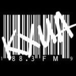 Logo da emissora KXUA 88.3 FM