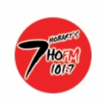 Logo da emissora Radio 7HO 101.7 FM