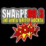 Logo da emissora KVLD 99.3 FM Sharpe