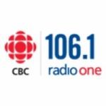 Logo da emissora CBC Radio One 106.1 FM