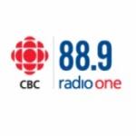 Logo da emissora CBC Radio One 88.9 FM