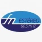 Logo da emissora Rádio Estéreo 96.5 FM
