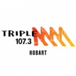 Logo da emissora Radio Triple M Hobart 107.3