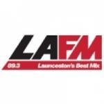 Logo da emissora Radio LAFM 89.3 FM