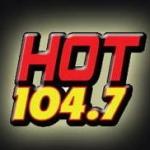 Logo da emissora KHTN 104.7 FM Hot