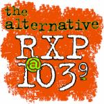Logo da emissora Radio KRXP 103.9 FM