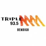 Logo da emissora Radio Triple M Bendigo 93.5
