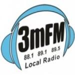 Logo da emissora Radio 3MFM 88.1 FM