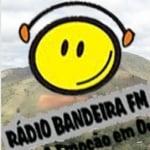 Logo da emissora Radio Bandeira 105.7 FM