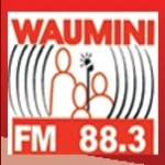 Logo da emissora Radio Waumini FM 88.3 FM